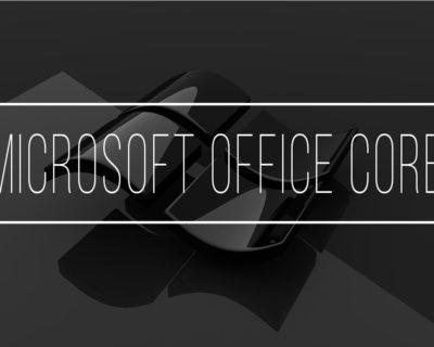 Microsoft Office 2007 Core